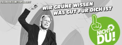 FDP gegen Grünen