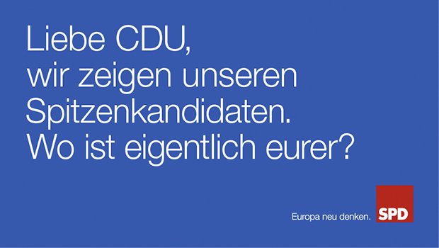 SPD Endógeno Comunicación Electoral Europa