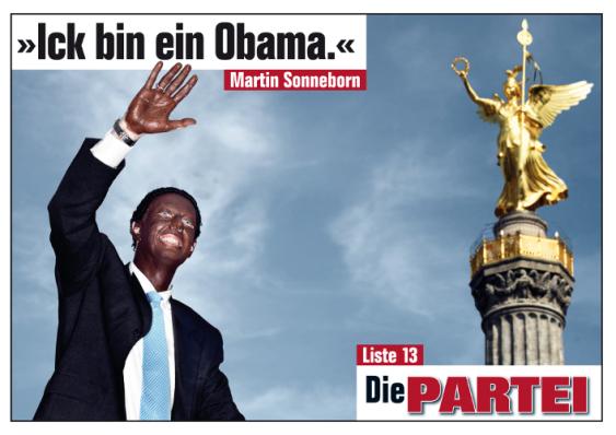 """Berlin 2011: """"Yo soy un Obama"""""""