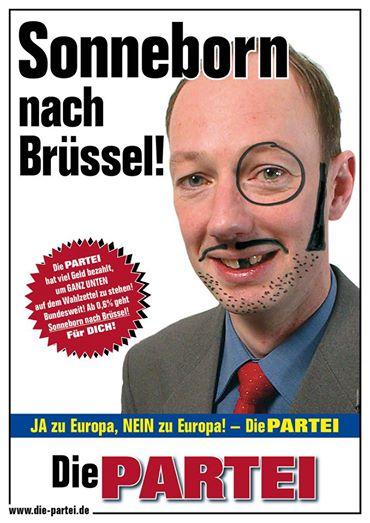 "Europeas 2014: ""¡Sonneborn a Bruselas!"""