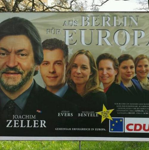 CDU Berlin Europa Afiche