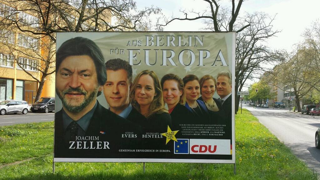 """Desde Berlin para Europa."""