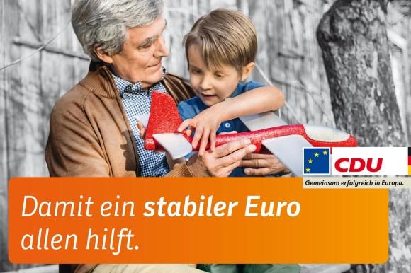 """""""Para que Euro estable ayude a todos."""""""