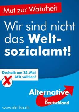 """Elecciones Europeas 2014: """"No somos la seguridad social del mundo"""""""