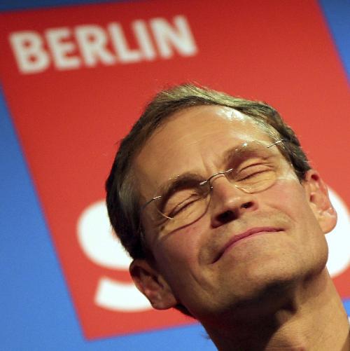 Michael Müller, nuevo alcalde de Berlin.
