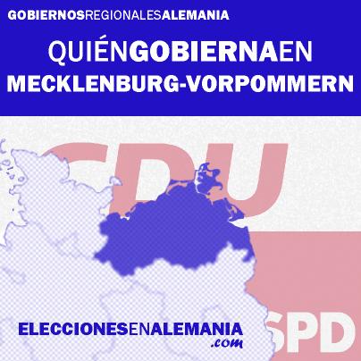 Click en la imagen para saber más sobre el gobierno de Mecklenburg-Vorpommern.