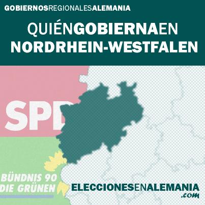 Click en la imagen para saber más sobre el gobierno de Nordrhein-Westfalen.