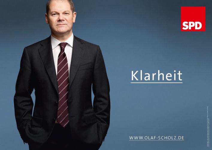 """""""Claridad"""". Afiche electoral para las regionales de 2011 en Hamburg. Quelle: butter.de"""