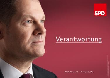 """""""Responsabilidad"""". Afiche electoral para las regionales de 2011 en Hamburg. Quelle: butter.de"""