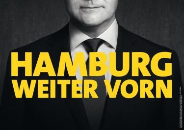 """""""Hamburg más adelante"""". Fuente: SPD Hamburg."""
