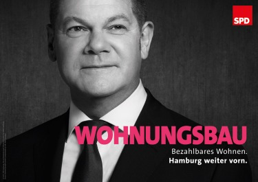 """""""Construcción de viviendas"""". Fuente: SPD Hamburg."""