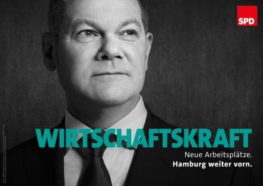 """""""Fortaleza económica"""". Fuente: SPD Hamburg."""
