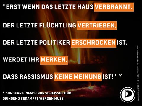 Partido Pirata facebook racismo alemania