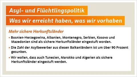 CDU plan refugiados 2016