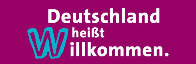 """""""Alemania significa Bievenidos."""" Afiche SPD. Fuente: spd.de"""