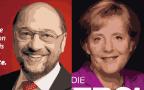 El duelo del año: Schulz vs Merkel