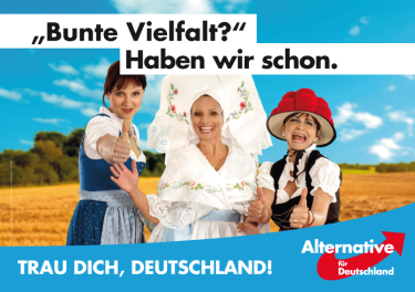 """""""¿Diversidad multicolor? Ya tenemos. ¡Atrévete Alemania!"""""""
