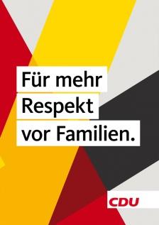 """""""Por más respeto para las familias."""""""