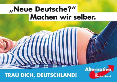"""""""¿Nuevos alemanes? Los hacemos nosotros mismos. ¡Atrévete Alemania!"""""""
